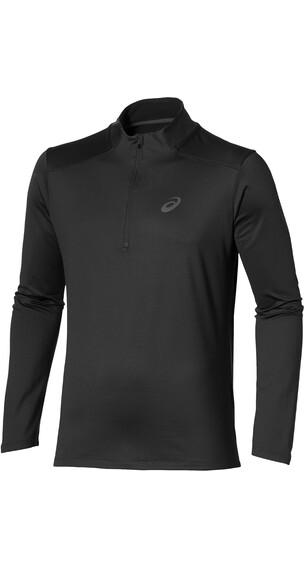 asics Winter - Camiseta Running Hombre - negro